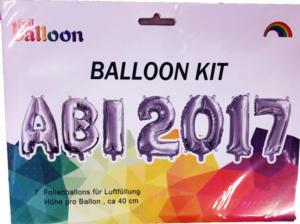 Heliumballons Abitur