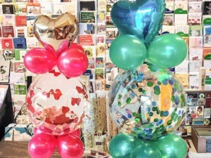 Geschenkballon Geburtstagsballon Konfetti Luftballon Birthday Balloon Lühmann Hamburg
