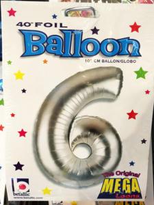 Heliumballons alle Zahlen eins zwei drei vier fünf sechs sieben acht neun null 1 2 3 4 5 6 7 8 9 0