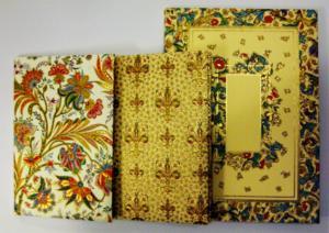 Italienische Notizbücher und Papiere